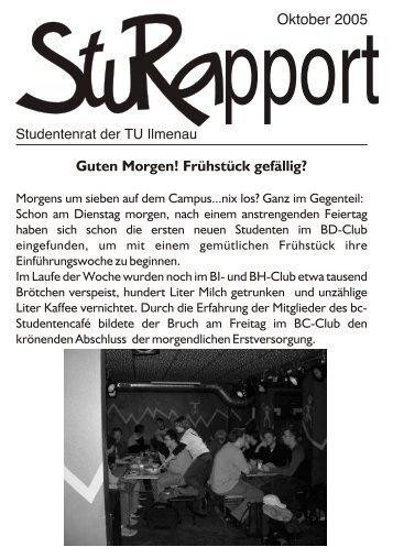 pportOktober 2005 Guten Morgen! Frühstück gefällig? - StuRa TU ...