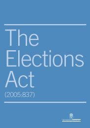 Elections Act (2005)
