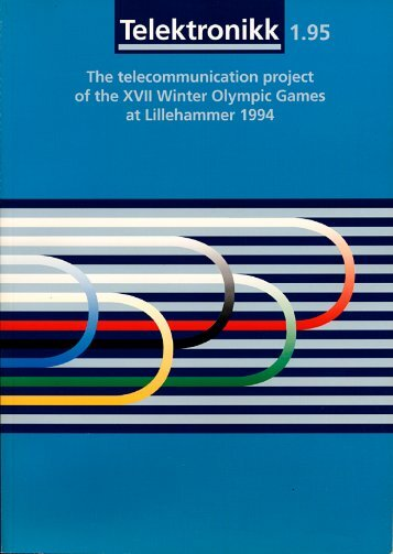 Norwegian Telecom and the XVII Winter Olympic Games - Telenor