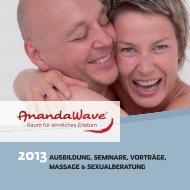 Unser aktuelles Seminarprogramm 2013 zum ... - AnandaWave