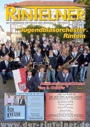 Jugendblasorchester Rinteln