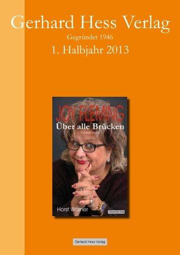 Gerhard Hess Verlag - Brockhaus Commission