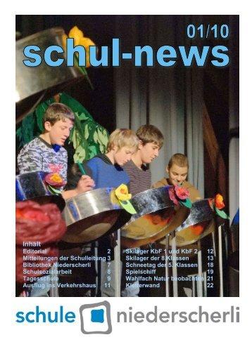 SchN Schulnews - Schule Niederscherli