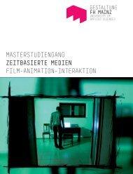 RZ_G_Zeitbasierte Medien MA.indd - Fachhochschule Mainz