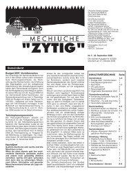 Nr.5 - 22. September 2006 - Meikirch