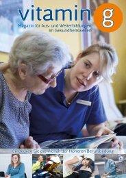 Magazin für Aus- und Weiterbildungen im Gesundheitswesen ...