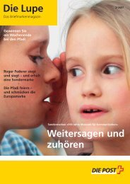 Die Lupe 02/2007 - Ausgabe Februar 2007Link