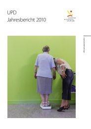 Jahresbericht 2010 - Universitätsklinik für Psychiatrie - Universität ...