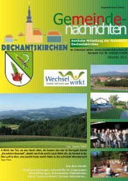 Oktober 2011 - Gemeinde Dechantskirchen