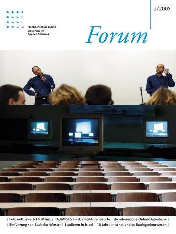 | Fotowettbewerb FH Mainz | PALIMPSEST