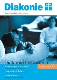 Jahresbericht 2007 - Diakonie Österreich