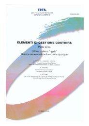 elementi di gestione costiera – parte iii - Centro Ricerche Ambiente ...