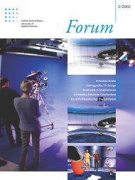 Forum 2002-02-s19 - Fachhochschule Mainz