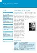 HINTER DEN KULISSEN: Hausdienste, Horte, Weiterbildung AUF ... - Seite 2