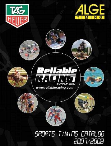 TAG Heuer Basic Ski Configuration - Reliable Racing
