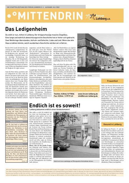 •°MITTENDRIN - Dinslaken-Lohberg