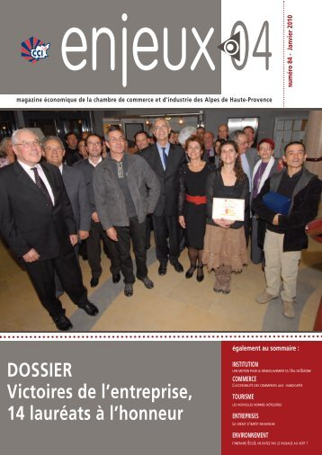 Magazine Enjeux 04 - Janvier 2010 - CCI des Alpes de Haute ...