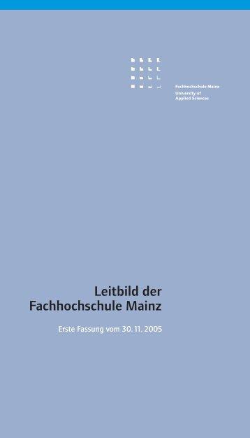 1 - Fachhochschule Mainz