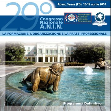 ANIN 29Abano Terme (PD), 16-17 aprile 2010 - SNO