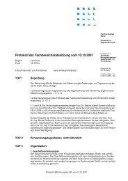 FBR-071010-protokoll www - Fachhochschule Mainz