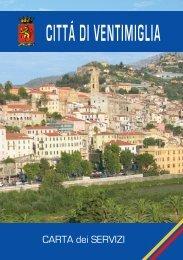 Clicca qui per scaricare la Carta dei servizi - Comune di Ventimiglia