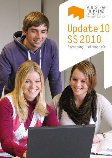 Update 10 SS 2010 - Fachhochschule Mainz