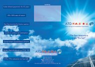 """The Best Investment Under The Sun"" - ATG Tasol - Solar Design ..."