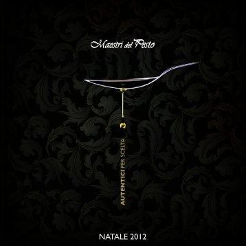 NATALE 2012 - Maestri del Pesto