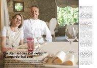Ein Stern ist das Ziel vieler, «Lampart's» hat zwei - Hotel & Gastro ...