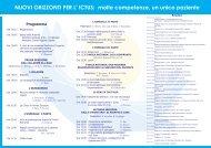 NUOVI ORIZZONTI PER L' ICTUS - Formazione In Emergenza ...