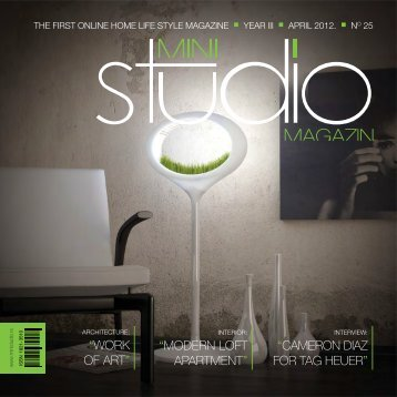 ARCHITECTURE - mini STUDIO magazin