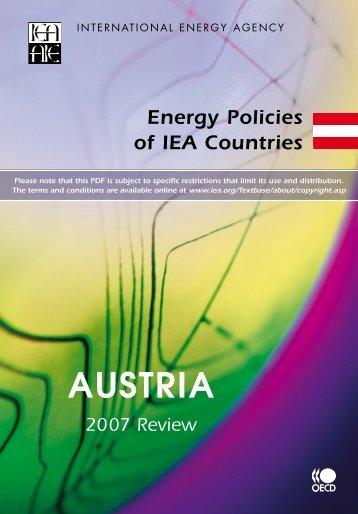 AUSTRIA - IEA