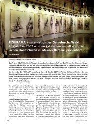 FIGURAMA – internationaler Gemeinschaftsakt Im Oktober 2007 wurden ...