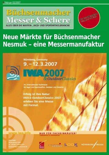 Neue Märkte für Büchsenmacher Nesmuk - Dr. Johannes Fiala