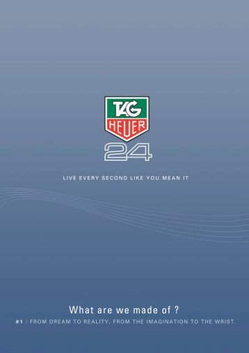 What are we made of ? - Product Registration - TAG Heuer Watches ...