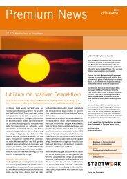 Premium News 2/2009 - Stadtwerk Winterthur