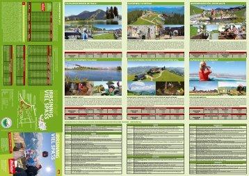 Bergerlebnis Info Sommer 2012 - Skiwelt Wilder Kaiser-Brixental