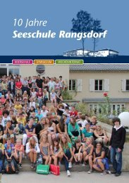 10 Jahre Seeschule Rangsdorf