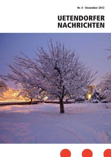 UN_2012_4 [PDF, 1.00 MB] - Gemeinde Uetendorf