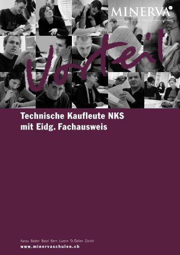 Technische Kaufleute NKS mit Eidg. Fachausweis - Minerva