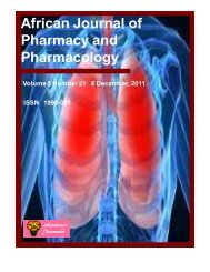 Download Complete Issue (5380kb) - Academic Journals