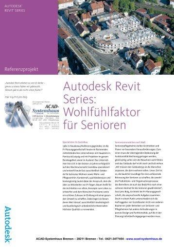 Autodesk Revit Series - ACAD-Systemhaus Bremen