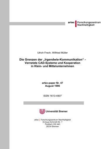 2. betriebliche rahmenbedingungen - artec - Universität Bremen