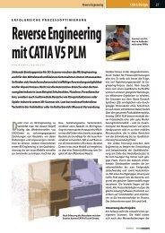 Reverse Engineering mit CATIA V5 PLM