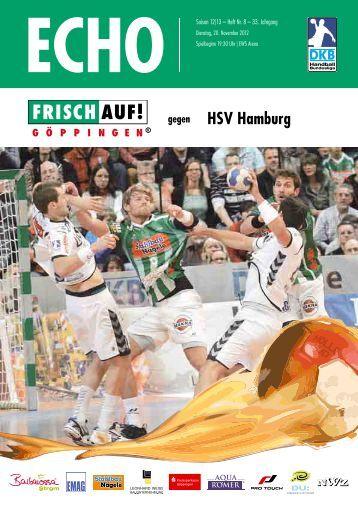 HSV Hamburg - FRISCH AUF! Göppingen