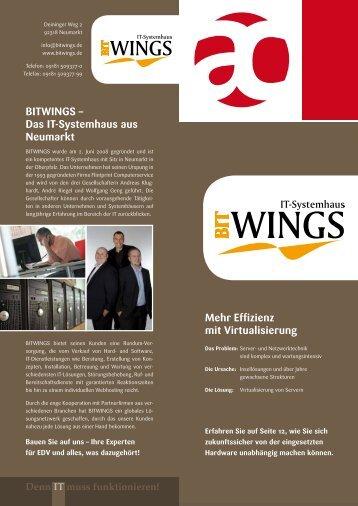 BITWINGS – Das IT-Systemhaus aus Neumarkt ... - Auctores GmbH