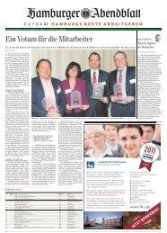Hamburgs beste Arbeitgeber 2011