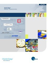 SolidEdge- Fallstudie 3D-CAD System in der Medizintechnik