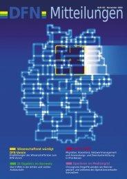 Wissenschaftsrat würdigt DFN-Verein 6net & 6WiN 10 Gigabit/s im ...