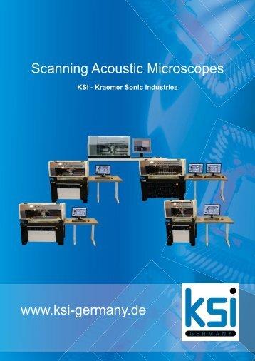 Scanning Acoustic Microscopes www.ksi-germany.de - Electron Mec